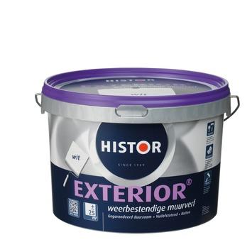 Histor Exterior muurverf wit 2,5 liter