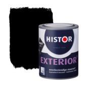Histor Exterior muurverf zwart 1 liter