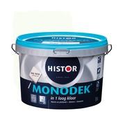 Histor Monodek latex RAL 9010 gebroken wit 2,5 liter