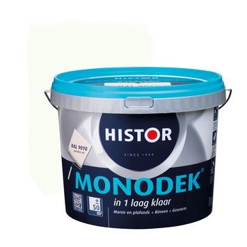 Histor Monodek latex RAL 9010 gebroken wit 5 liter