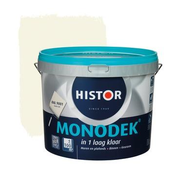 Histor Monodek latex RAL 9001 crème wit 10 liter