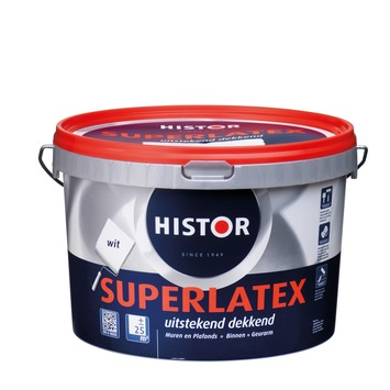 Histor Super latex wit 2,5 liter