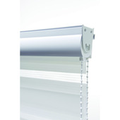 GAMMA roljaloezie lichtdoorlatend 4301 wit 150x160 cm