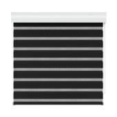 GAMMA roljaloezie lichtdoorlatend 4304 zwart 90x160 cm