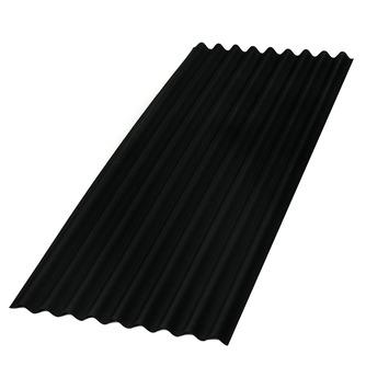 Aquaplan topline bitumen golfplaat zwart 200x86 cm