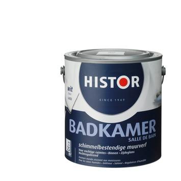 histor muurverf badkamer wit 2,5 liter | muurverf kleur | muurverf, Badkamer