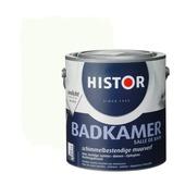 Histor muurverf badkamer RAL 9010 gebroken wit 2,5 liter