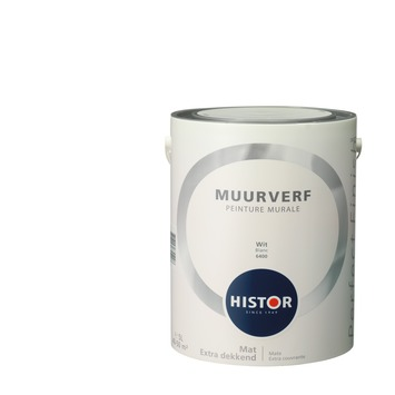 Histor Perfect Finish muurverf wit mat 5 liter