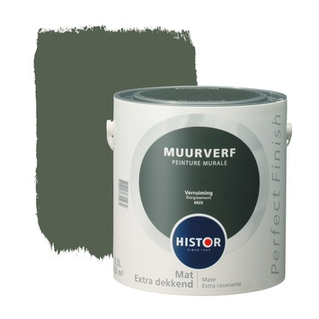 Histor Perfect Finish muurverf verruim mat 2,5 liter