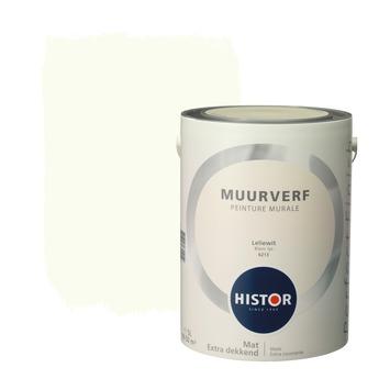 Histor Perfect Finish muurverf leliewit mat 5 liter