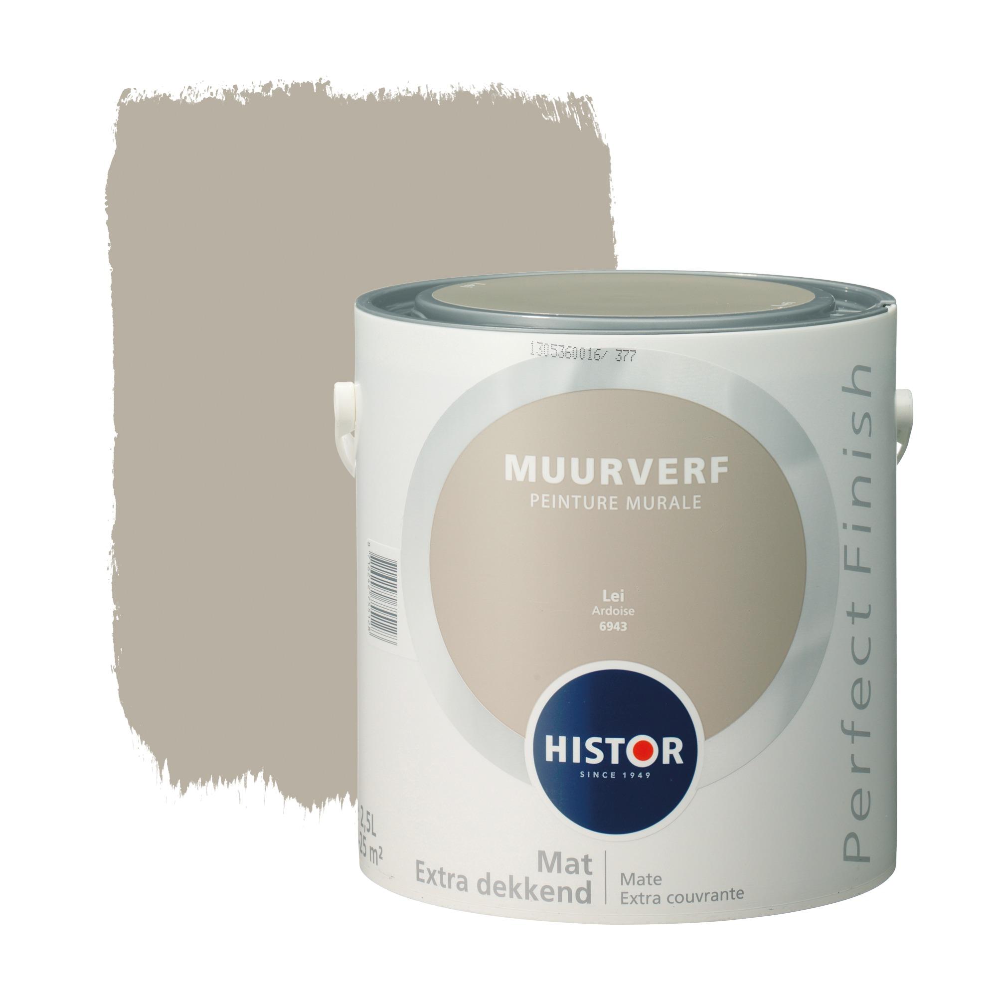 Histor perfect finish muurverf mat lei 6943 2,5 l