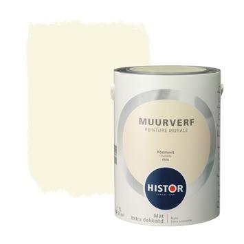 Histor Perfect Finish muurverf roomwit mat 5 liter
