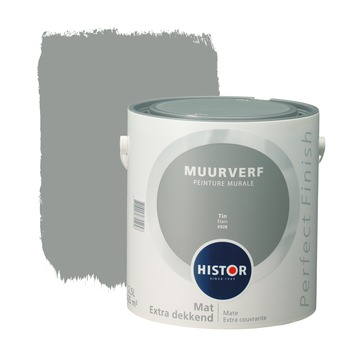 Histor Perfect Finish muurverf tin mat 2,5 liter