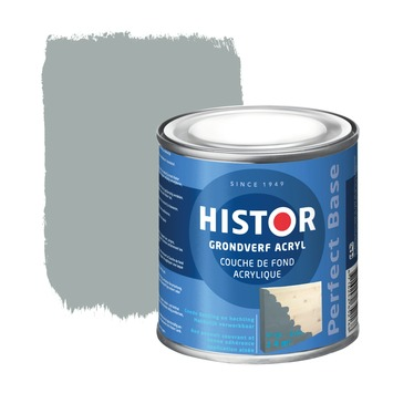 Histor Perfect Base grondverf grijs 250 ml