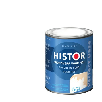 Histor Perfect Base grondverf MDF wit 750 ml