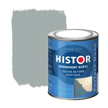 Histor Perfect Base grondverf grijs 750 ml