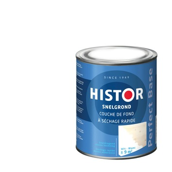 Geliefde GAMMA | Histor Perfect Base grondverf sneldrogend wit 750 ml kopen? | MM17