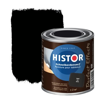 Histor Perfect Effects schoolbordverf zwart mat 250 ml