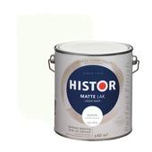 Histor Perfect Finish lak zonlicht RAL 9010 mat 2,5 liter