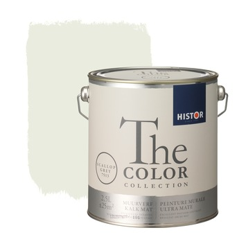 Histor The Color Collection muurverf scallop grey 2,5 liter