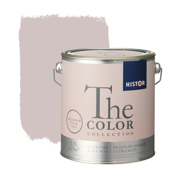 Zeer GAMMA | Histor The Color Collection muurverf shadow pink 2,5 liter TI09