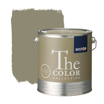 Histor The Color Collection muurverf original green 2,5 liter