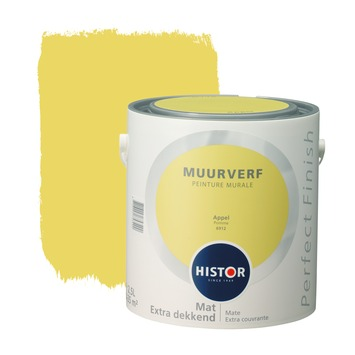 Histor Perfect Finish muurverf appel mat 2,5 liter