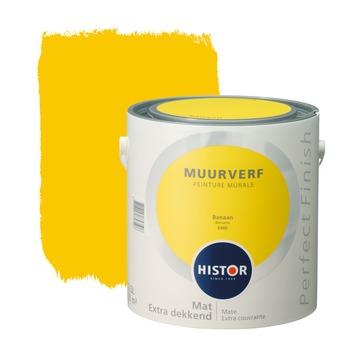 Histor Perfect Finish muurverf banaan mat 2,5 liter