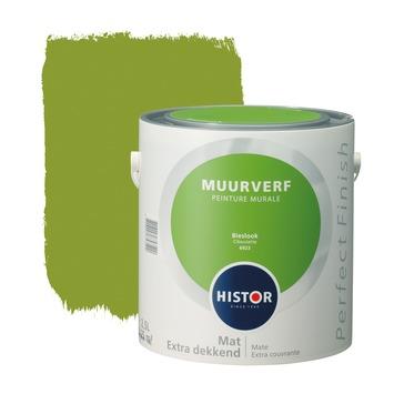 Histor Perfect Finish muurverf bieslook mat 2,5 liter