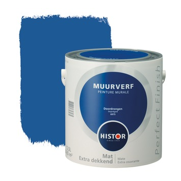 Histor Perfect Finish muurverf doordrongen mat 2,5 liter
