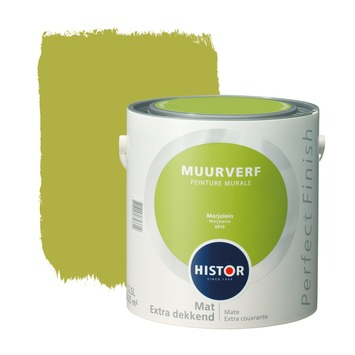 Histor Perfect Finish muurverf marjolein mat 2,5 liter