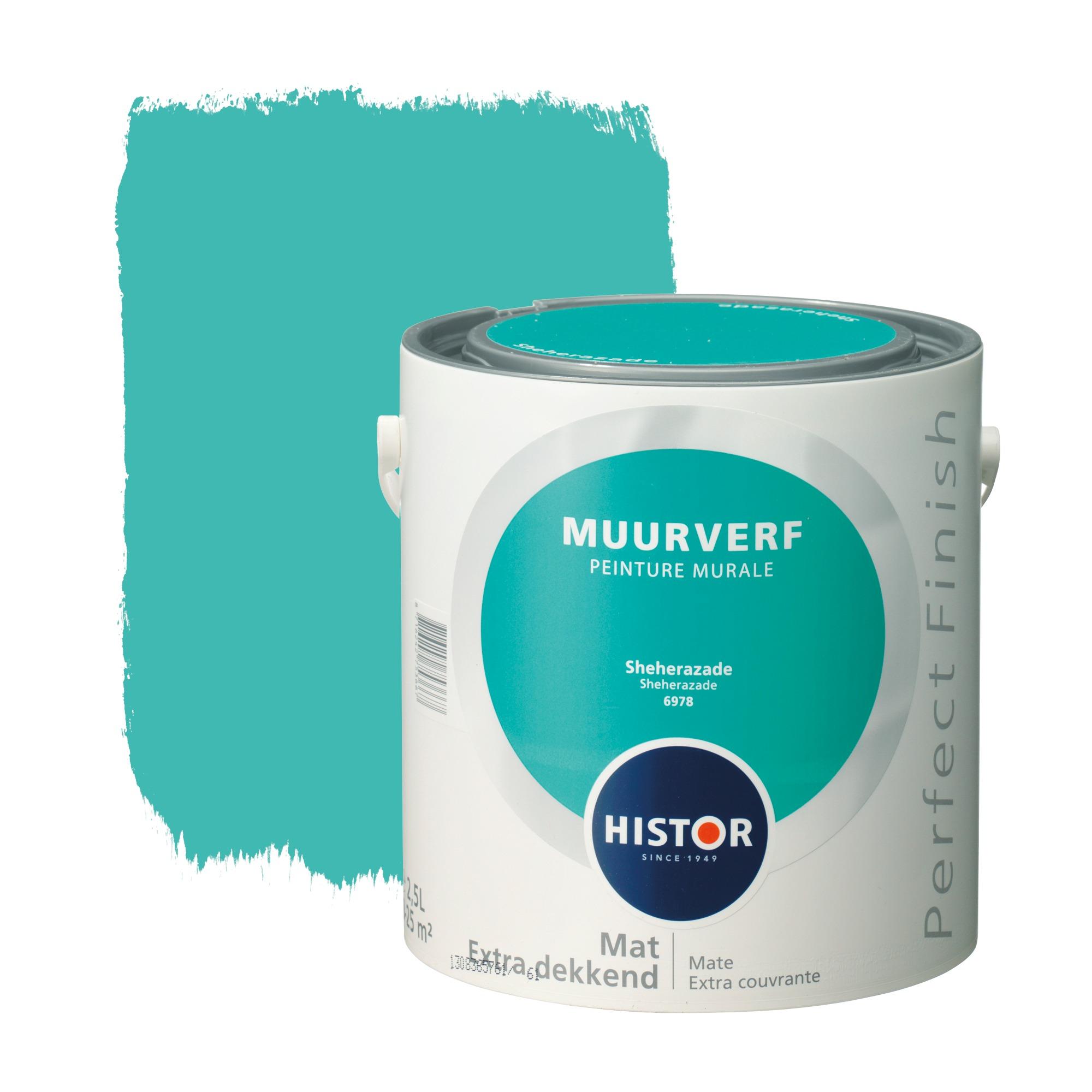 Histor perfect finish muurverf mat sheherazade 6978 2,5 l