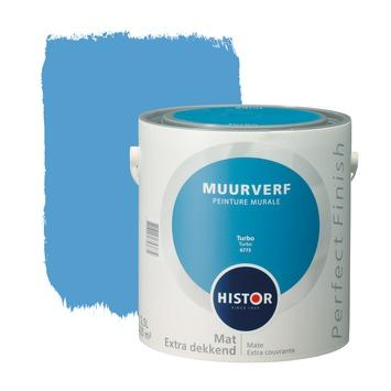 Histor Perfect Finish muurverf turbo mat 2,5 liter