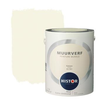 Histor Kleuren Verf.Gamma Histor Perfect Finish Muurverf Katoen Mat 5 Liter Kopen