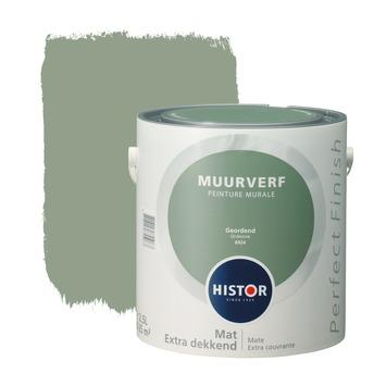 Histor Perfect Finish muurverf geordend mat 2,5 liter