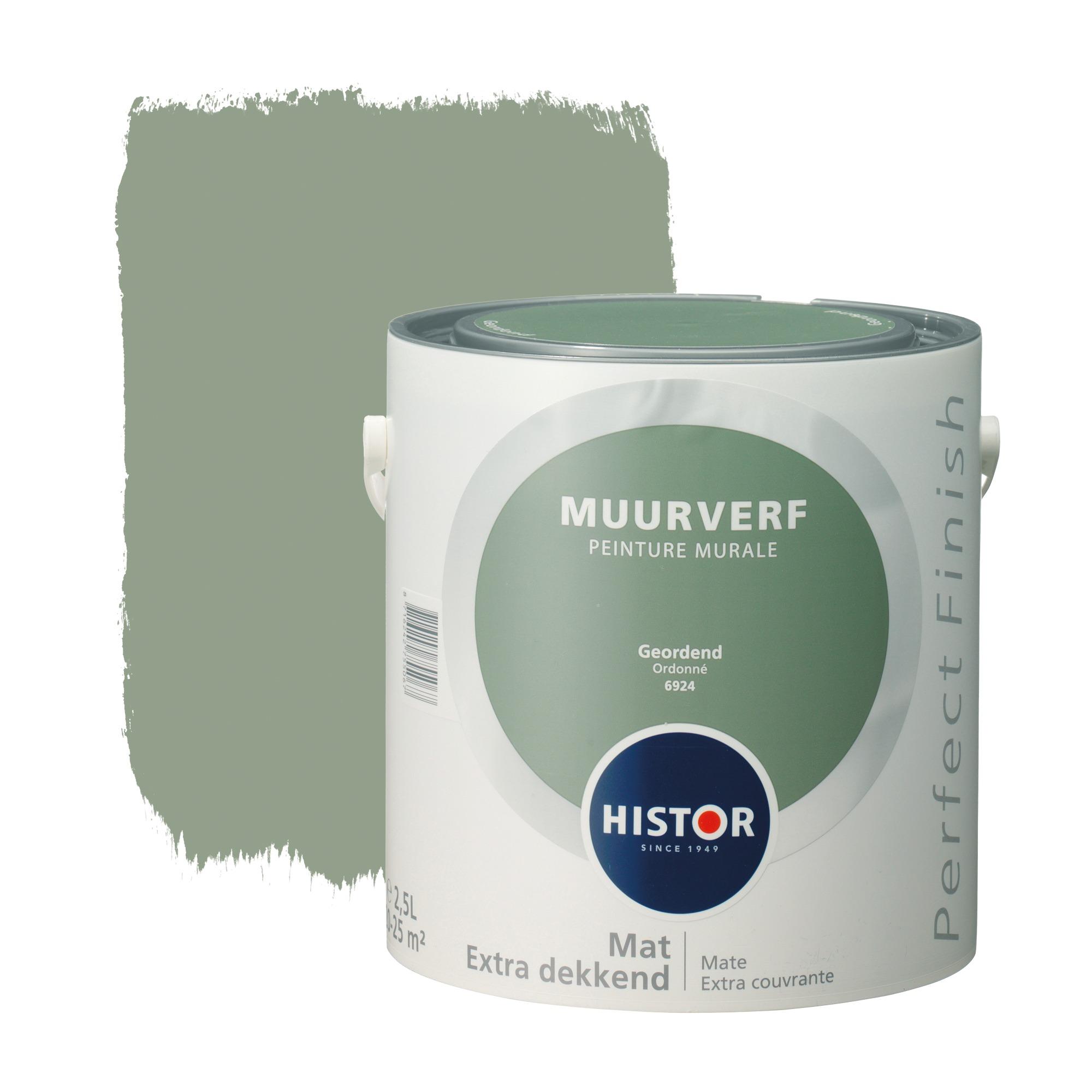 Histor perfect finish muurverf mat geordend 6924 2,5 l