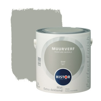 Histor Perfect Finish muurverf grind mat 2,5 liter
