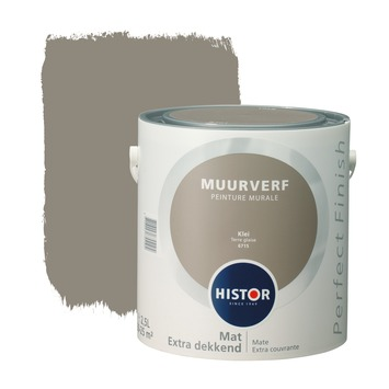 Histor Perfect Finish muurverf klei mat 2,5 liter
