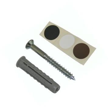 Fischer DuoPower plankbevestiging 8x40 mm set compleet met schroef 10 stuks