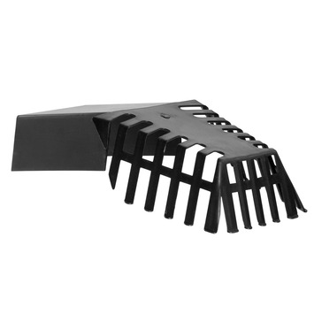 Martens bladvanger t.b.v. kiezelbak zwart 60x100 mm
