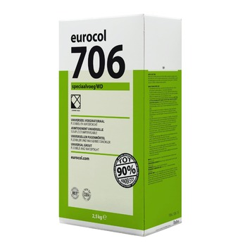 Eurocol 706 speciaal voegmortel wit 2,5 kg