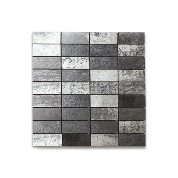 Mozaïektegel Vulcano Zwart 30x30 cm