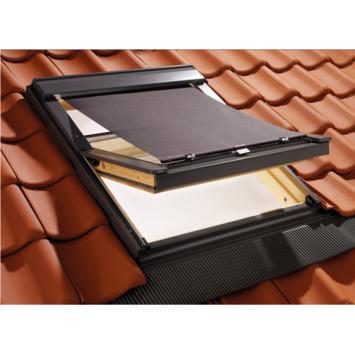GAMMA dakraam buitenscreen lichtdoorlatend 7500 zwart 550x980 mm