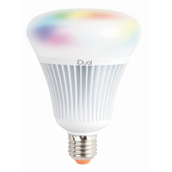 iDual E27 LED lamp 1055 lumen RGB