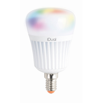 iDual E14 LED lamp 470 lumen RGB