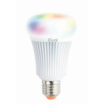 iDual E27 LED lamp 806 lumen RGB