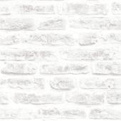 Graham & Brown vliesbehang 101801 stenen wit 10 meter