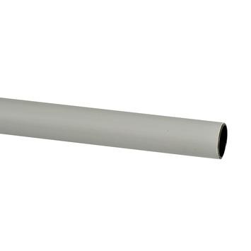Intensions roede 19 mm ijzer geplastificeerd wit 200 cm