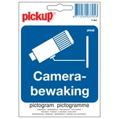 Pickup pictogram camerabewaking 10x10 cm
