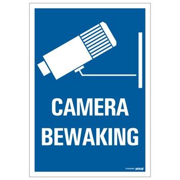 Pickup bord combinatie camera bewaking 23x33 cm